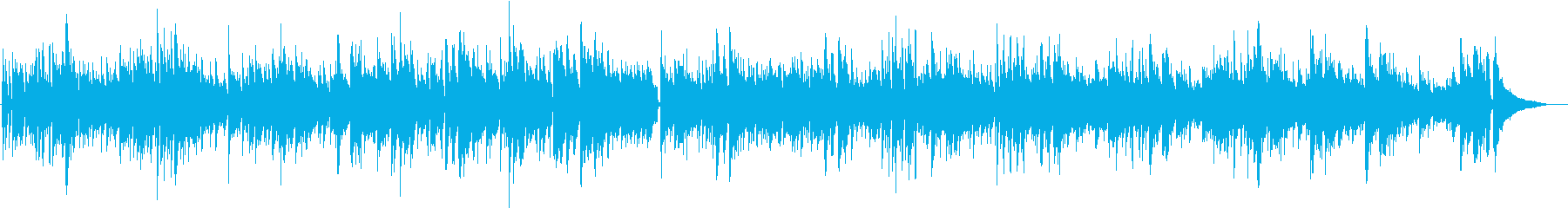 生演奏アコギ お出かけの暖かな陽気の再生済みの波形