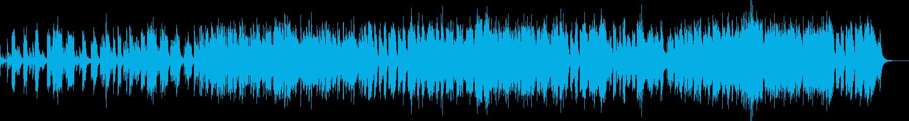 疾走感のあるジャズ風ナンバーの再生済みの波形