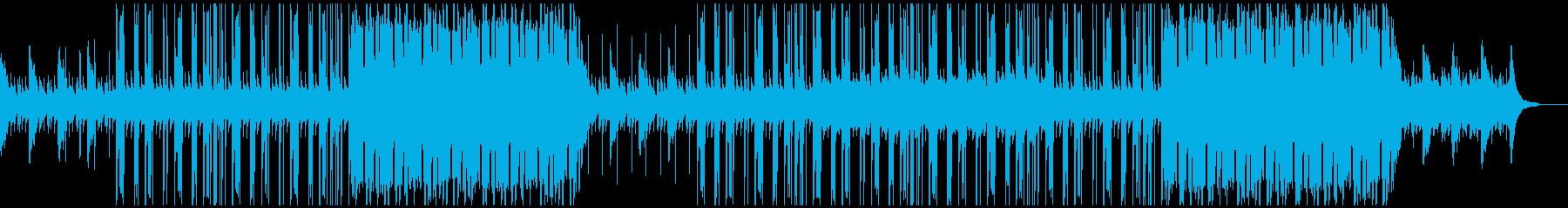 洋楽 アコースティックギター ビートの再生済みの波形
