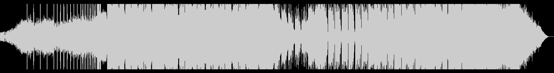 サイケデリックなIDMの未再生の波形