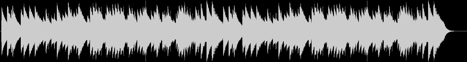 「もろびとこぞりて」オルゴール1の未再生の波形