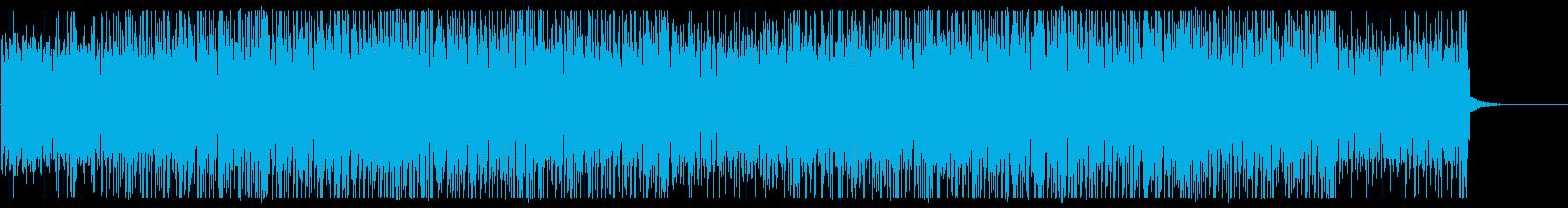 ロボットが踊るような愉快なシンセ曲 Aの再生済みの波形