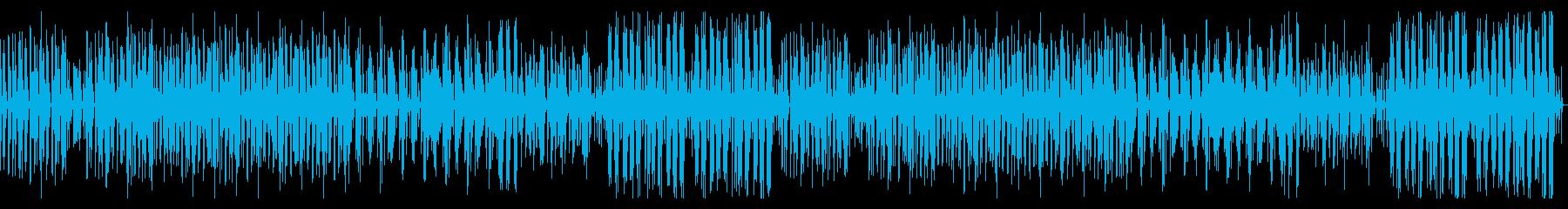 まったりした日常のシンプルなBGMの再生済みの波形