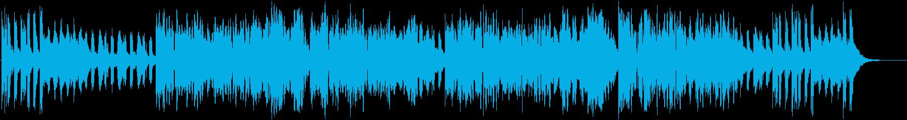 メリーゴーラウンド風ワルツBGM♪の再生済みの波形