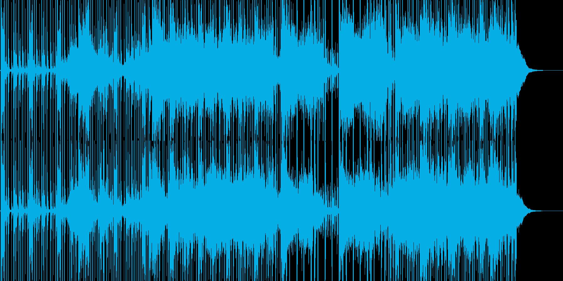 不思議な雰囲気のエレクトロニカの再生済みの波形
