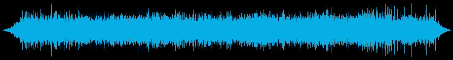 エスカレーター:ランニングの再生済みの波形