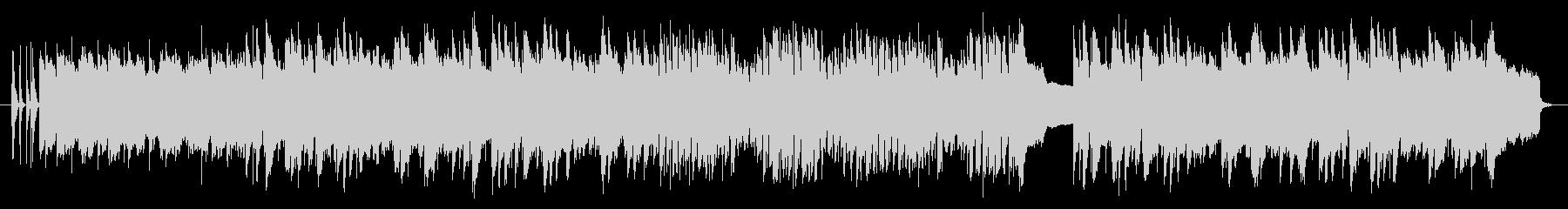 南国をイメージしたウクレレのオリジナル曲の未再生の波形