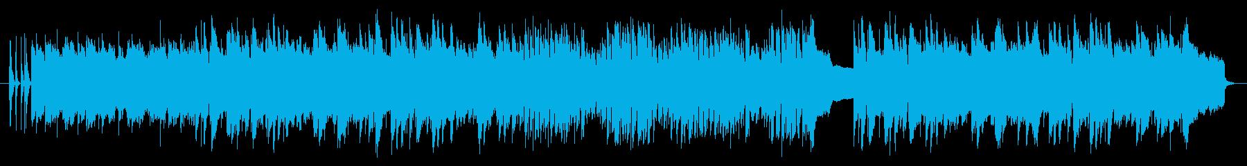 南国をイメージしたウクレレのオリジナル曲の再生済みの波形