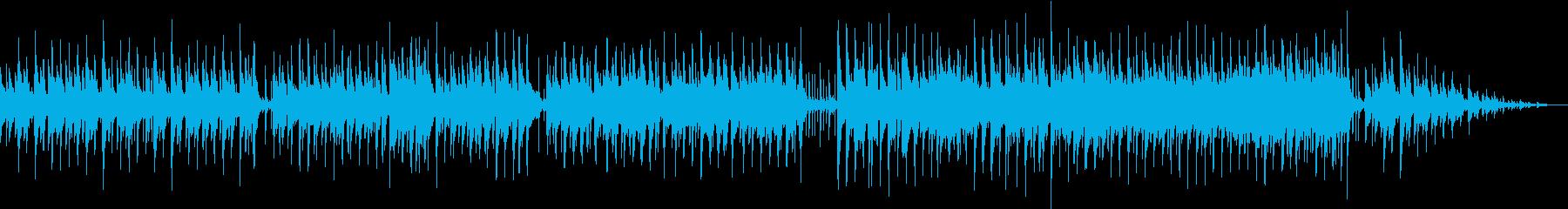 日常を演出するブルース・ジャズ風の再生済みの波形