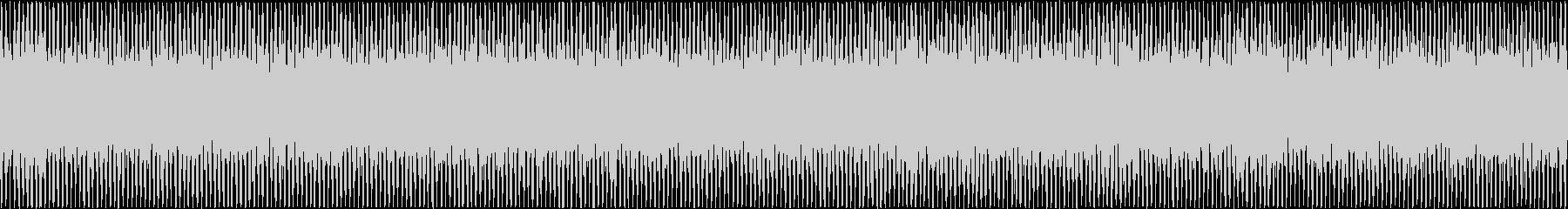 ザァー(FMラジオのノイズD)ループ処理の未再生の波形