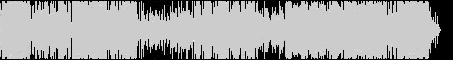 4/5拍子で展開する和風ピアノインストの未再生の波形