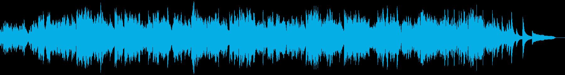 二胡による演奏の再生済みの波形