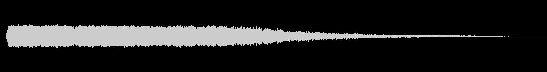 サーモスタットエアエスケープの未再生の波形