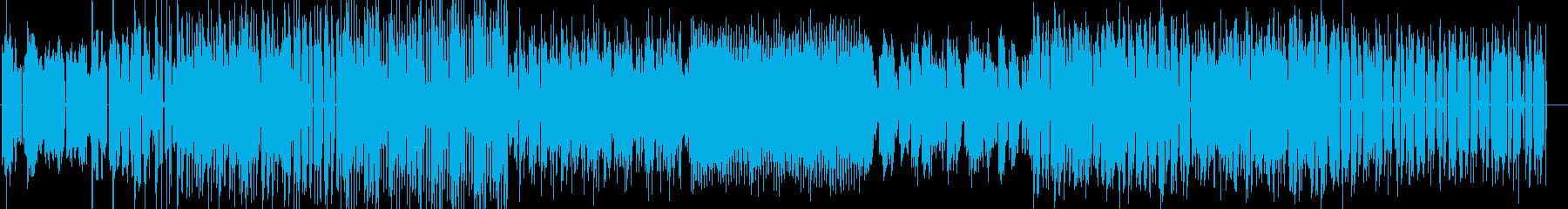 カワイくてコミカルなフューチャーベースの再生済みの波形