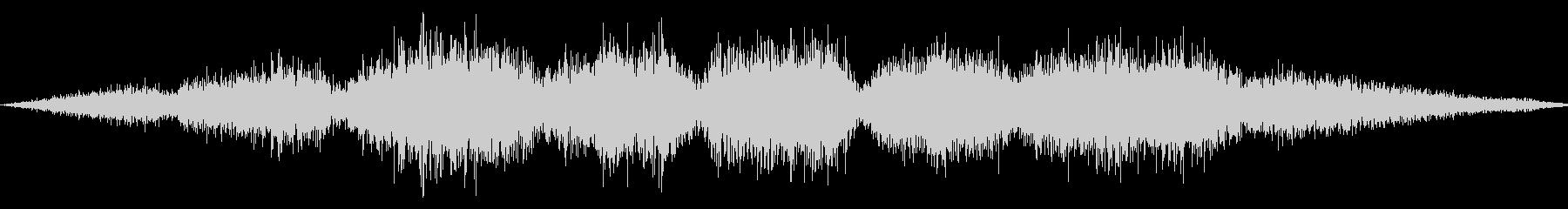 ゴシゴシ(たわしやモップで掃除する音)2の未再生の波形