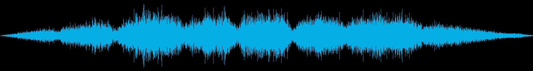 ゴシゴシ(たわしやモップで掃除する音)2の再生済みの波形
