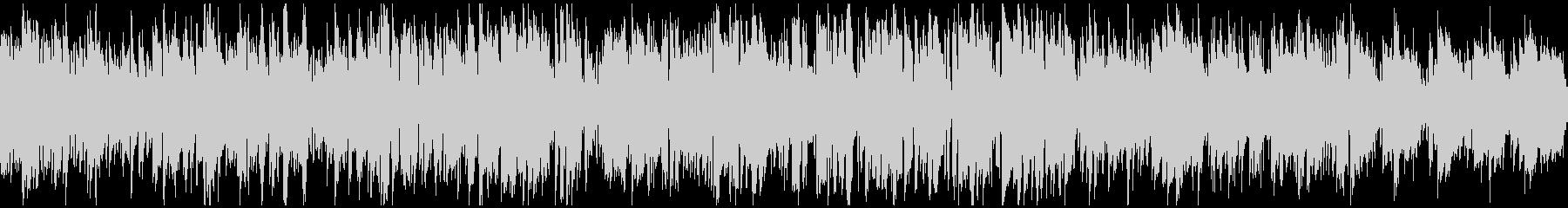 綺麗なメロディの軽快なボサノバ※ループ版の未再生の波形