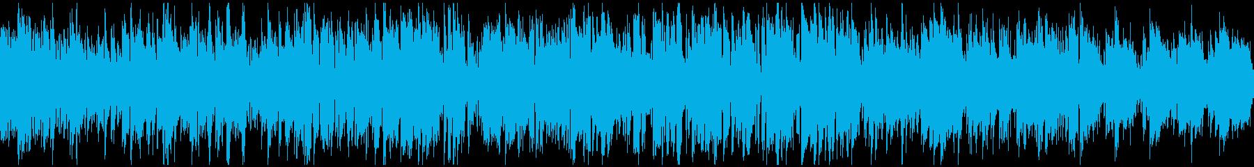 綺麗なメロディの軽快なボサノバ※ループ版の再生済みの波形