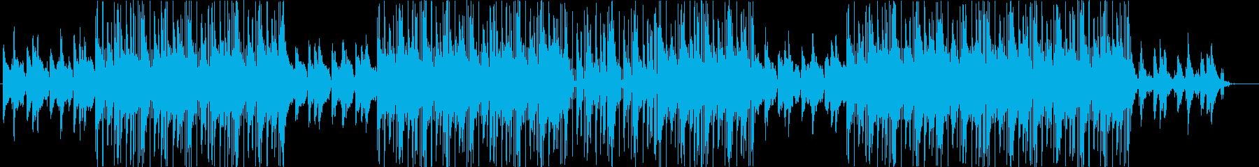 洋楽、トラップソウル、R&B、チルアウトの再生済みの波形