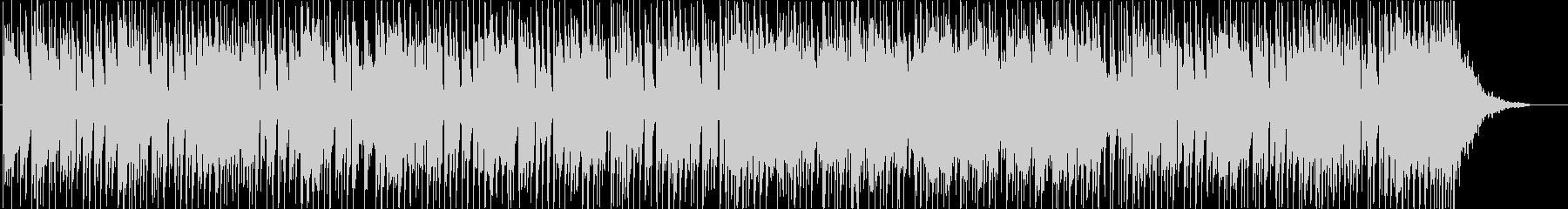 和風ファンクロック、疾走感のある三味線の未再生の波形