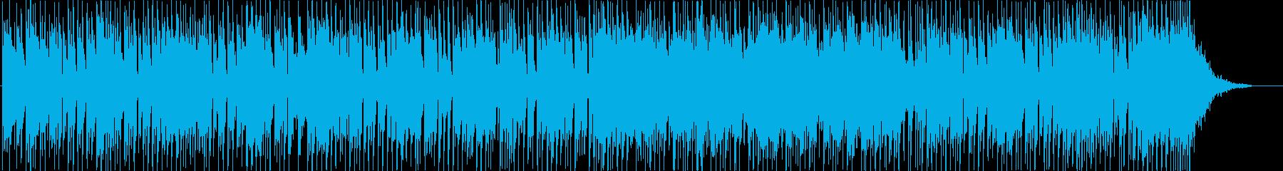 和風ファンクロック、疾走感のある三味線の再生済みの波形
