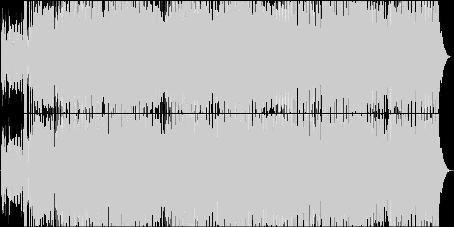 サックスが印象的な旅立ちの歌の未再生の波形