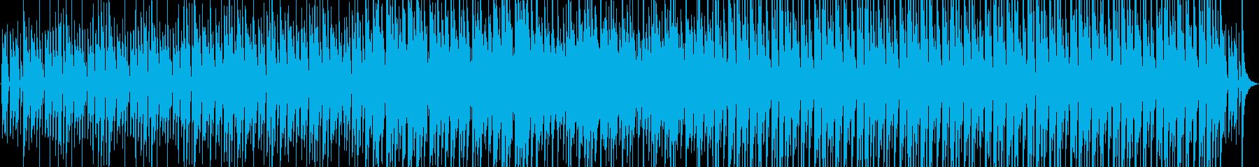 マリンバとギターのほのぼのとしたポップスの再生済みの波形