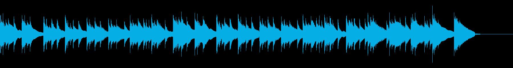【アコギのみ】優しい懐かしさのあるBGMの再生済みの波形