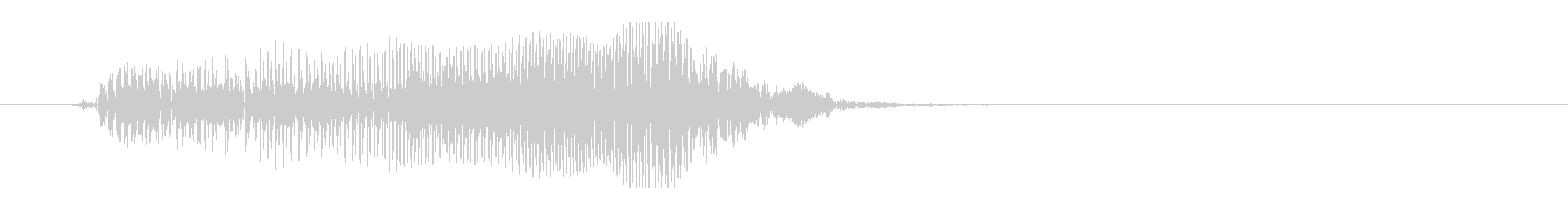 腹の虫-16(腹ペコ・ぐう〜)の未再生の波形