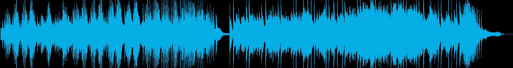 ピアノ&オーケストラ。クラシック。の再生済みの波形