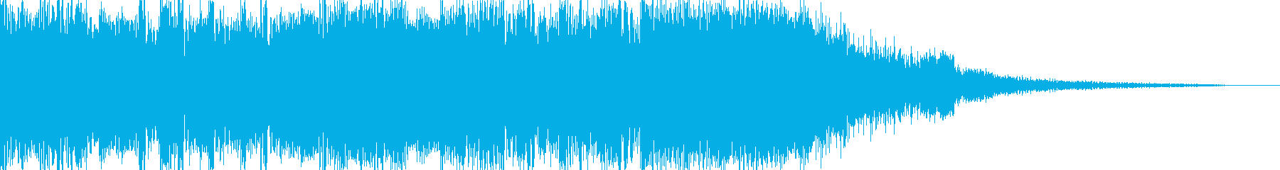 Cool and fashionable electro jingle 2's reproduced waveform