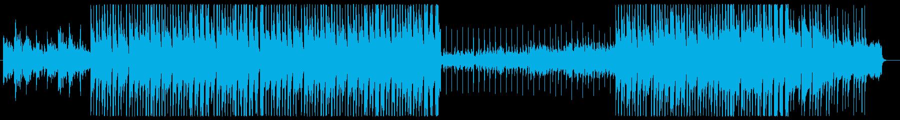 ノスタルジックな和風Lo-Fiバラードの再生済みの波形