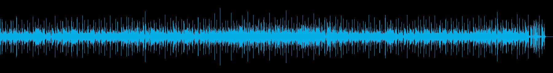のんびりブランチをしてる雰囲気のボサノバの再生済みの波形