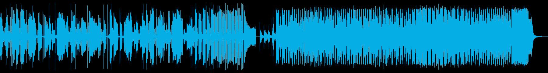 レトロでポップなマッシブ・エレクトロニカの再生済みの波形