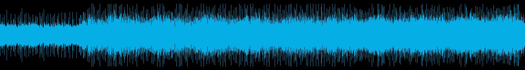 【ループ】パズルゲーム、アプリ、中国音階の再生済みの波形