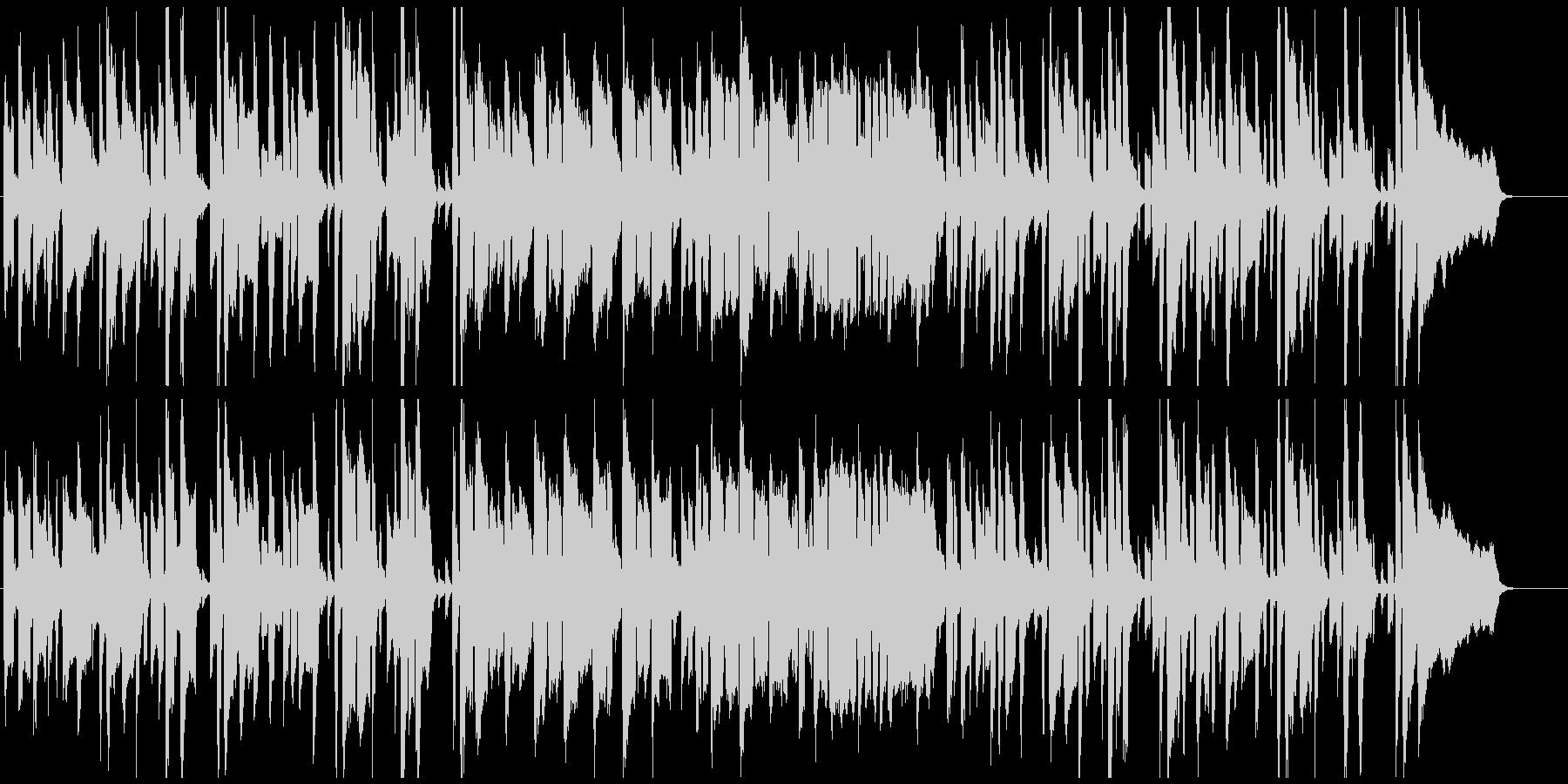 のほほん素朴なリコーダーのシンプルな劇伴の未再生の波形