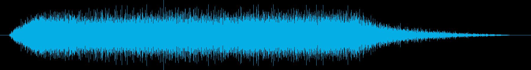 小型電動ジグソー:起動、実行、停止...の再生済みの波形