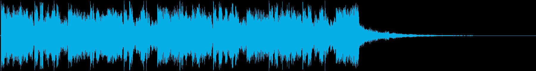 ジングル/フューチャー/かわいいの再生済みの波形