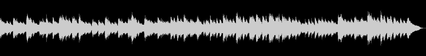 ベートーベン「悲愴」第2楽章 ピアノの未再生の波形