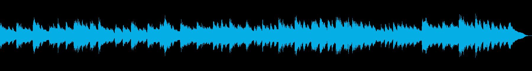 ベートーベン「悲愴」第2楽章 ピアノの再生済みの波形