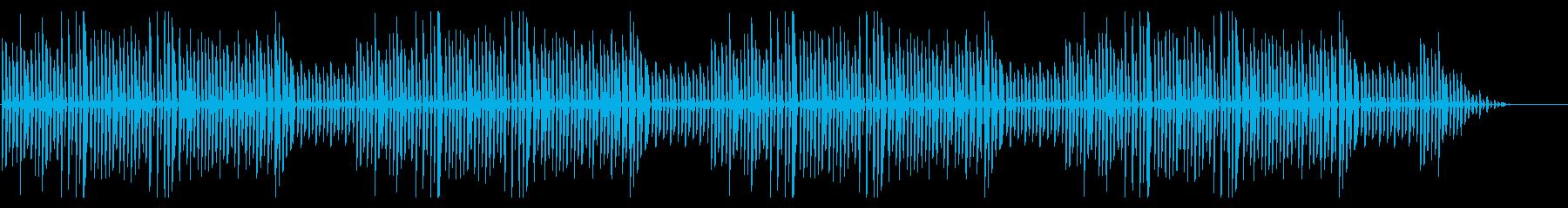 秋の童謡「虫の声」シンプルなピアノソロの再生済みの波形