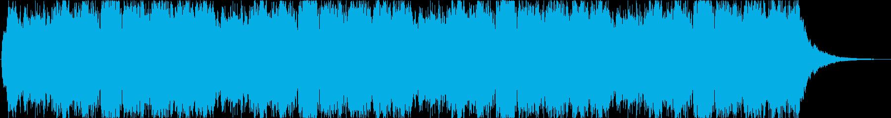 壮大なオーケストラ曲。感動系。ループ。の再生済みの波形