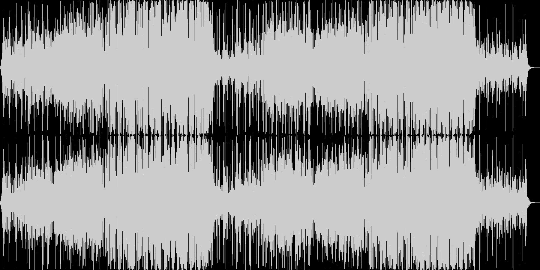おしゃれでかわいいFuture Bassの未再生の波形