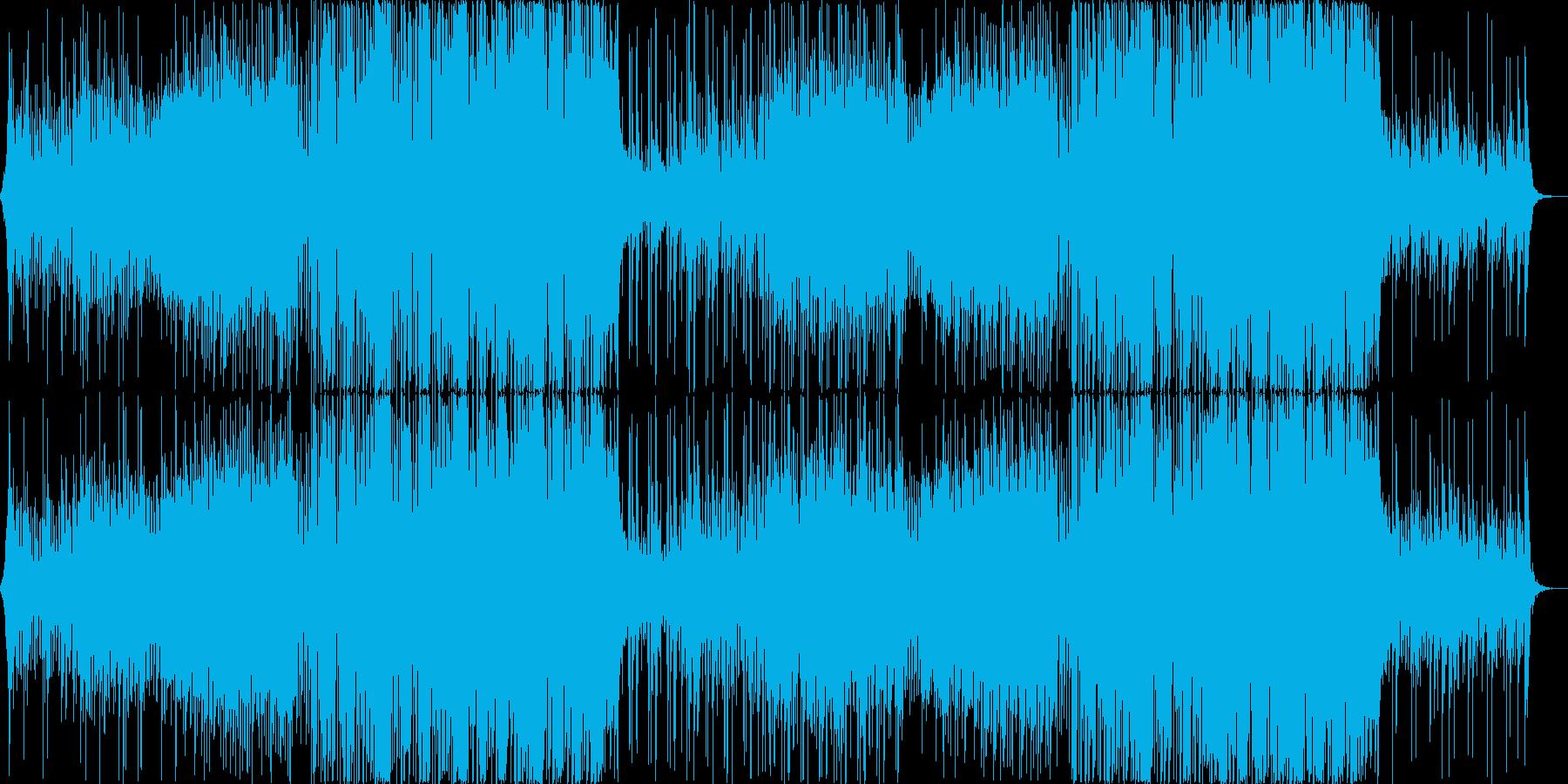 おしゃれでかわいいFuture Bassの再生済みの波形