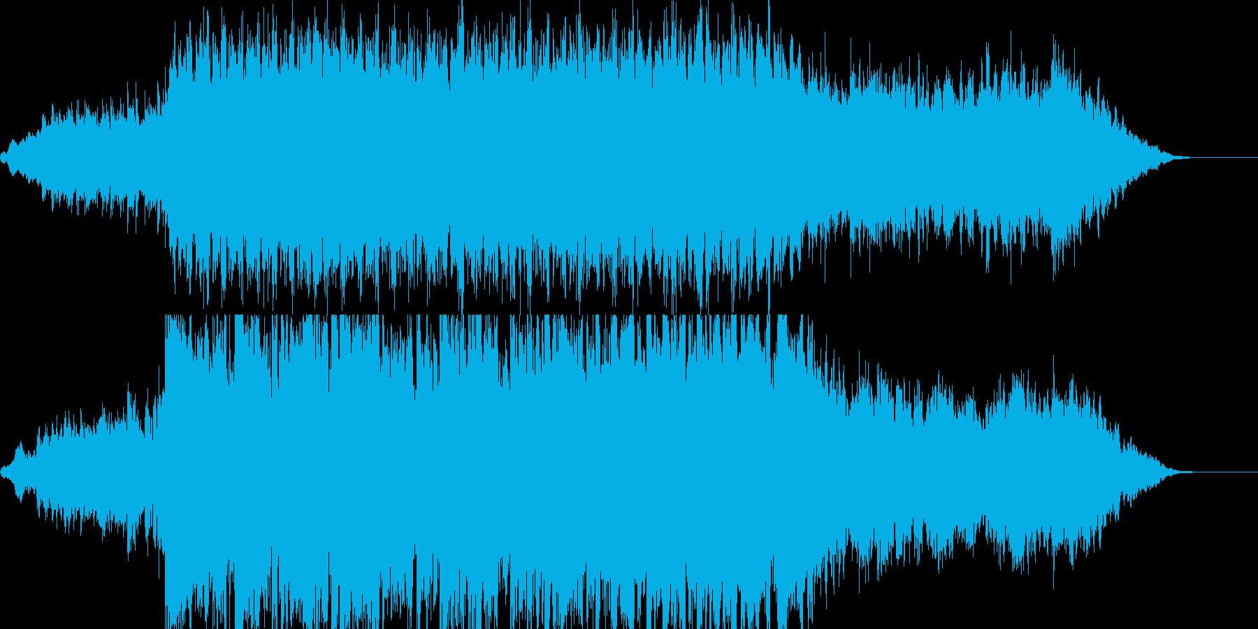 生ガットギター神秘的なイントロダクシンの再生済みの波形