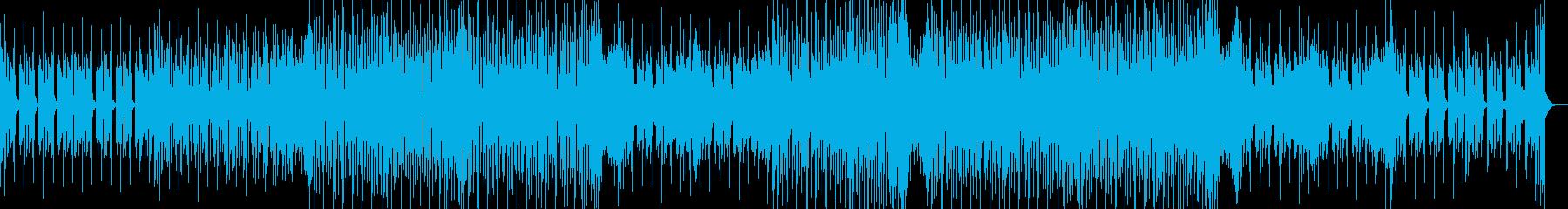 ピアノがノリノリなディスコの再生済みの波形