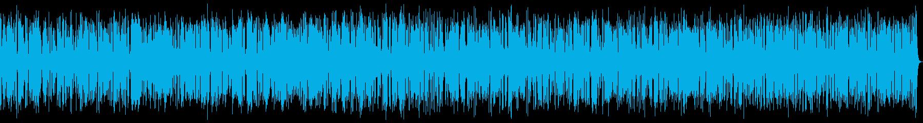 17分のかっこいいおしゃれジャズピアノの再生済みの波形