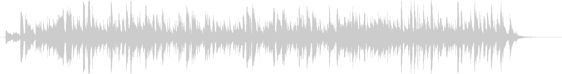 マンゴーをテーマにした楽曲の未再生の波形
