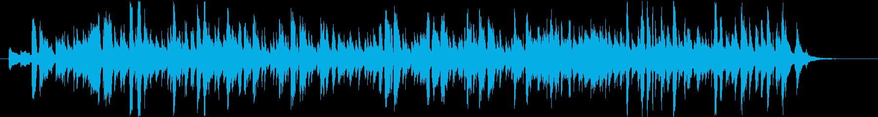 マンゴーをテーマにした楽曲の再生済みの波形