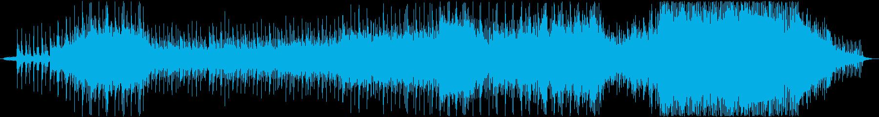 冬と春の儚い和テイストバラードの再生済みの波形